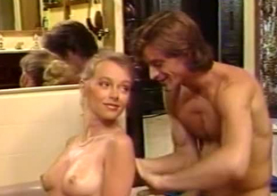 Stunning and lewd retro babes from Europe in surprising porn scenes