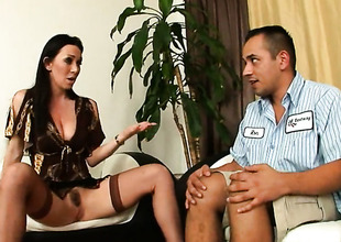 Ray Veness is a blowjob addict who loves guys rock solid adulate stick