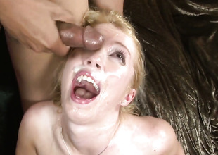 Rico Strong explores the depth be fitting of eye-popping Phyllisha Annes throat here his stumble