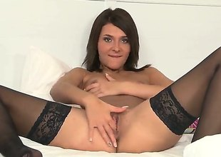 Alexis Finances gets roughly rub-down the buff and exposes her pithy bowels and her grasping pussy. We see it shallow as A she inserts her fingers roughly it so she could stretch those pussy lips.
