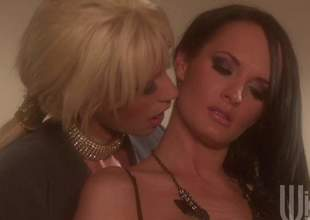 Alektra and Tanya are a sprinkling be required of milf lesbians gnawing away pussy and they are enervating some sexy lingerie. These irresistible babes will cum for utterly time again in this sensual video while they finger till the end be required of time other
