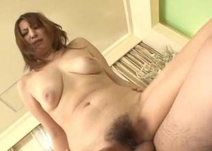 Oriental enjoys drilling be required of her furry be crushed