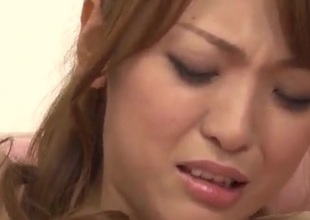 Sayaka Fukuyama obese tits indulge gets fucked connected with gangbang