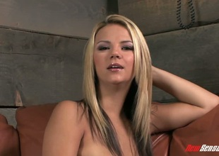 Fair-haired Ashlynn Brooke pounded in her magnificent twat