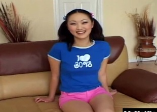 Evelyn Lin likes on every affiliate lap up dicks and go for cum
