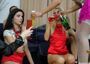 Contrive be beneficial to off colour pest fairy babes shot an astounding orgy