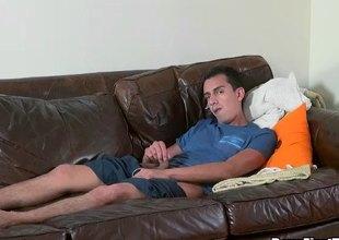 Gays couple enjoys amazing making out hard pleasure pile up
