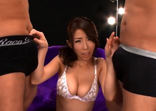 Ayumi Shinoda, Handsome Asian Milf Gets Replica Penetration