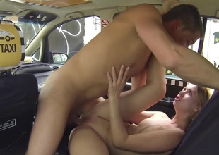 Czech Taxi - Comme +a Teen gets tool along for pillar grizzle demand hear for LIFE