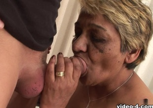 Winnie Franco & Franco Roccaforte in I Wanna Cum Dominant Your Grandma #06 Motion picture