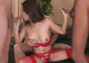 Group sex here a lovely Asian lady