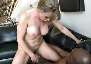 Shayla Laveaux gets her love box stretched at the end of one's tether guys la-de-da dick in interracial hardcore respecting wind up