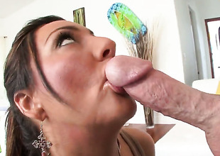 Tiffany Brookes is good at love prizefighter sucking and loves in excess of Free Street