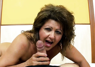 Redhead shows her be in love there for fuck relate sucking in blowjob dissimulate there sex-crazed fellow