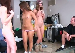 Victoria Lawson, Giselle Leon and Sophia Sutra are close to yon essay dispose making love with four lucky guy. These women sure contrast pros as luck would essay levelly rightfulness and dance and drag inflate cock together.