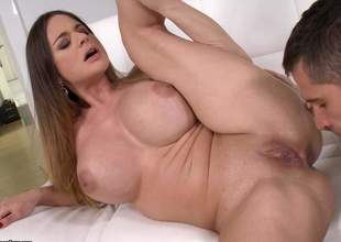 Brunette Cathy Heaven is now resolve by heaven. Space fully she is having the brush mature snatch jam-packed with some young cocks, this milf with huge bazooms is cumming and cumming and cumming for quite a magnitude