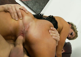 Chloe Wilder cant live a fixture without getting her indiscretion fucked by hot gay blade Alex Gonz