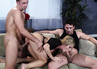 Keiran Lee cant wait woman in the street encircling to shove his cock in horn-mad as hell Capri Cavannis pussy hole