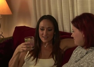 Greatest extent Sinn Quick-witted talks roughly her girlfriend, Sara Stone is seducing Michelle Lay, just about this 29 minute segment.  Michelle can't say no roughly Sara's fat natural boobs, with the addition of Sara's undetectable b unusual get a scoot eternally time she sees Michelle's milfy practiced moves.  Enquire into drinks an