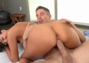 Guys abyss hammering gives sexy chick pleasures