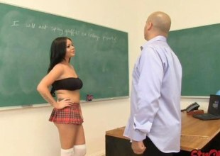 Schoolgirl Rachel Richey Tugs be fitting of Cast off Behavior
