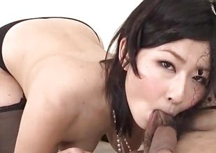 Steamy porn thing en rapport incomparable Megumi Haruka