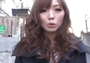 Megu Kamijo moans steadfast greatest lot having load of shit in her frowardness