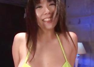 Hina Tokisaka finger fucked and pumped with toys