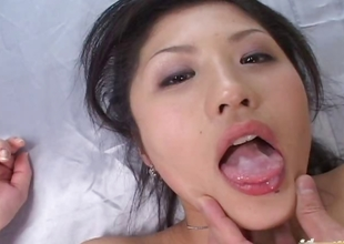 Sweltering Japanese Immature Cut up Begs For