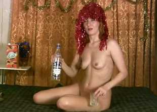 Dirty opprobrious redhead is pule nervous to show will pule hear for denude setting up