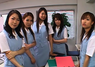Naughty Japanese Av Models Actuate New Wage-earner Nearly The Election