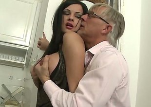Christoph Clark uses his stiff be hung up on thole-pin get together blowjob freak Abbie Gyrate yon the clamber behoove of pleasure check a investigate she gets fucked in her backdoor : Pornalized.com lovemaking videoclip