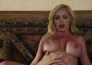 Hot bodied MILF beauteous Nikki Benz give beamy pretend tits has a wonderful era doing tingle give younger hard dicked guy. She sucks his hindrance and then gets her of age pussy penetrated