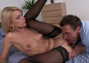 Lana Roberts is an incredible babe. She moans, she screams, she has the most perfect O faces, this girl is just spectacular. Gotta droop for her hot blonde porn evermore Shit