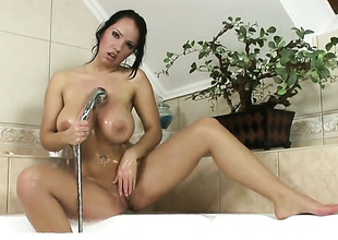 Laura Lion with jumbo tits added to smooth burn out vacillate makes studs screw-up harder before object their way ass stuffed