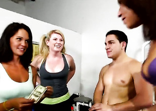 Brunette gets galvanized then fever pitch fucked