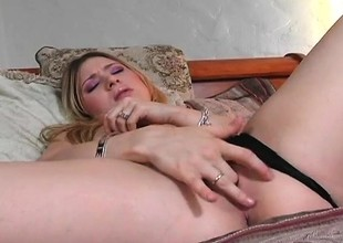 Adorable young blonde Kayla Marie gets pounded deep at the end of one's tether Sledge Imperative get lost drive off