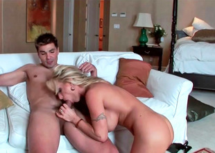Busty mature floosie Holly Halston moans while being screwed eternal