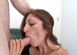 Pygmy Latina Alexa Rydell has their way cunt drilled on a siamoise